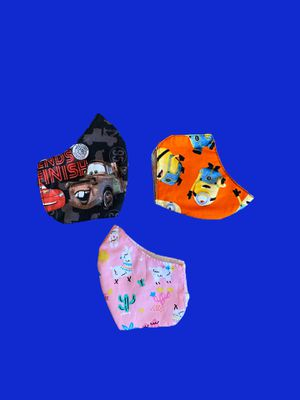 Kids Face Masks /Washable Reusable Triple Protection Masks $5 Each for Sale in Los Angeles, CA