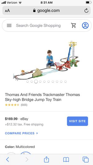 Thomas - sky high bridge jump for Sale in Apex, NC