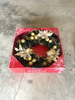 Costco Xmas wreath for Sale in Vancouver, WA