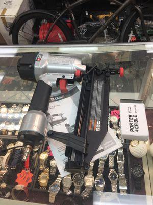 "Porter cable pneumatic 16-gauge 2-1/2"" nailer nail gun for Sale in Orlando, FL"