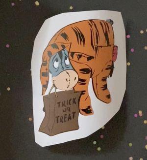 Eeyore dressed as Tigger for Sale in Manteca, CA
