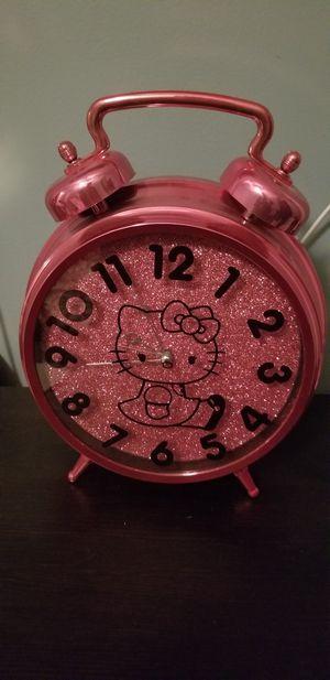 Hello kitty clock for Sale in Lithonia, GA