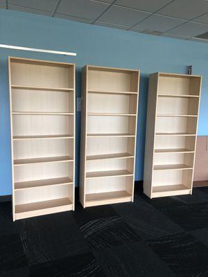 Wood Veneer Bookshelves for Sale in Redmond, WA