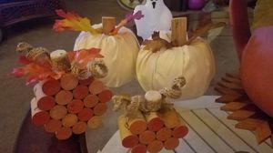 Beautiful Fall, Halloween wreaths and pumpkins for Sale in Bradenton, FL