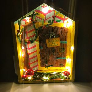 Fairy shed night light, fairy wall decor for Sale in Princeton, NJ