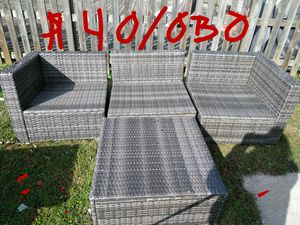 4 piece Outdoor patio furniture. for Sale in Goldsboro, PA