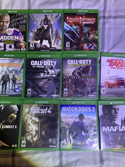XBOX controller XBOX games. 11 titles. for Sale in Lovettsville,  VA