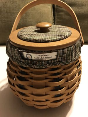 Longaberger Golf Basket 2003 for Sale in Wyoming, OH