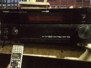 Yahmaha Stereo Receiver and 4 Magnavox Speakers , 1 Sony speaker/Universal Remote for Sale in Phoenix, AZ