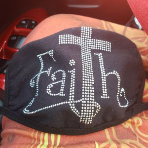 New In Package Washable Comfortable FAITH face Mask for Sale in San Antonio, TX
