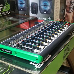 Pro Bass 16 channel mixer, with USB, and bluetooth. Brand new for speaker and microphone. Nationwide. for Sale in Miami, FL