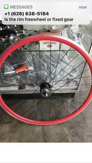 Rear fixie rim 700c for Sale in West Puente Valley, CA