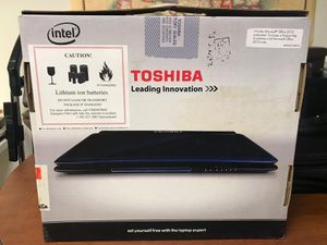 TOSHIBA as new Laptop with Backup System for Sale in Dearborn, MI