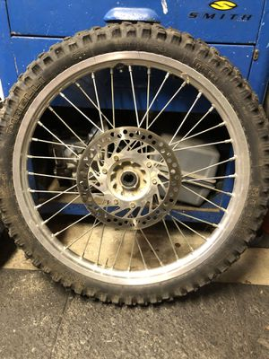 2000 Honda cr250r front wheel rim for Sale in Long Beach, CA