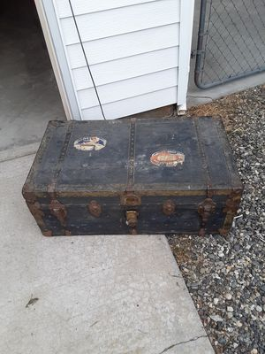 Old trunk from 1920's for Sale in Richland, WA