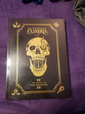 Critical role vox machina chronicles of exandria limited edition for Sale in Queens, NY