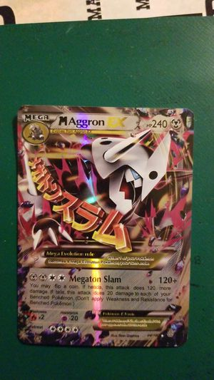 Pokemon aggron for Sale in Hanover Park, IL