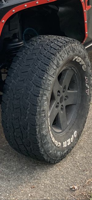 Rims and tires for Sale in North Chesterfield, VA