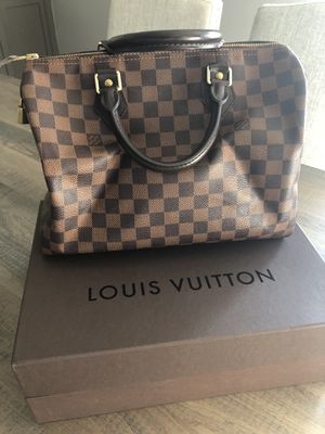 Louis Vuitton Speedy 30 purse with original receipt for Sale in Glenview, IL
