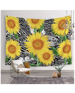 Tapestry wall sunflower 59x83 for Sale in Hollywood, FL