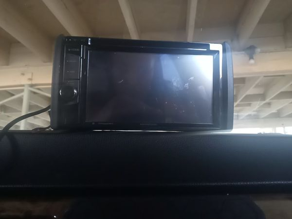 Kenwood monitor w/ receiver stereo