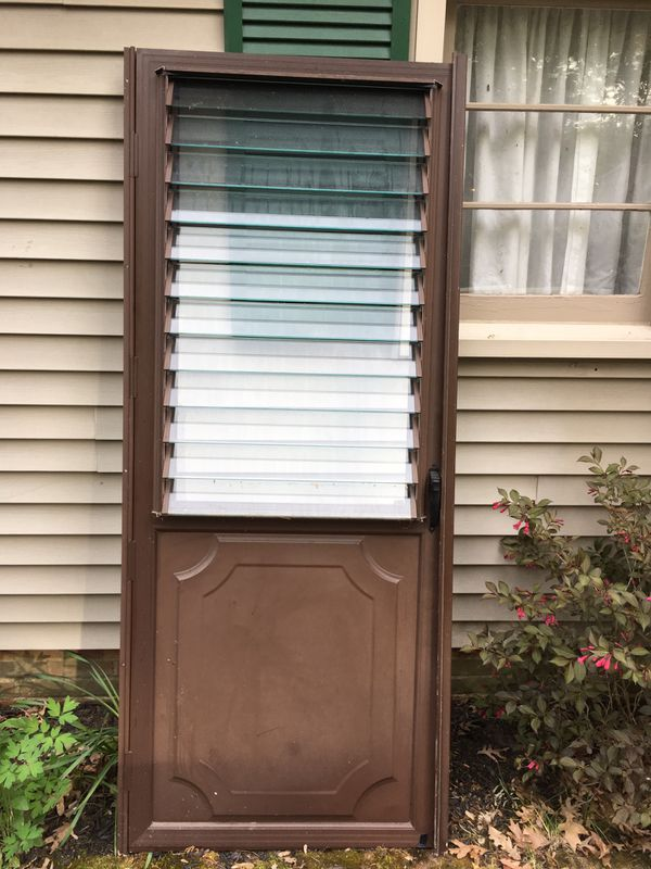 "30"" by 80"" outside screen Door"