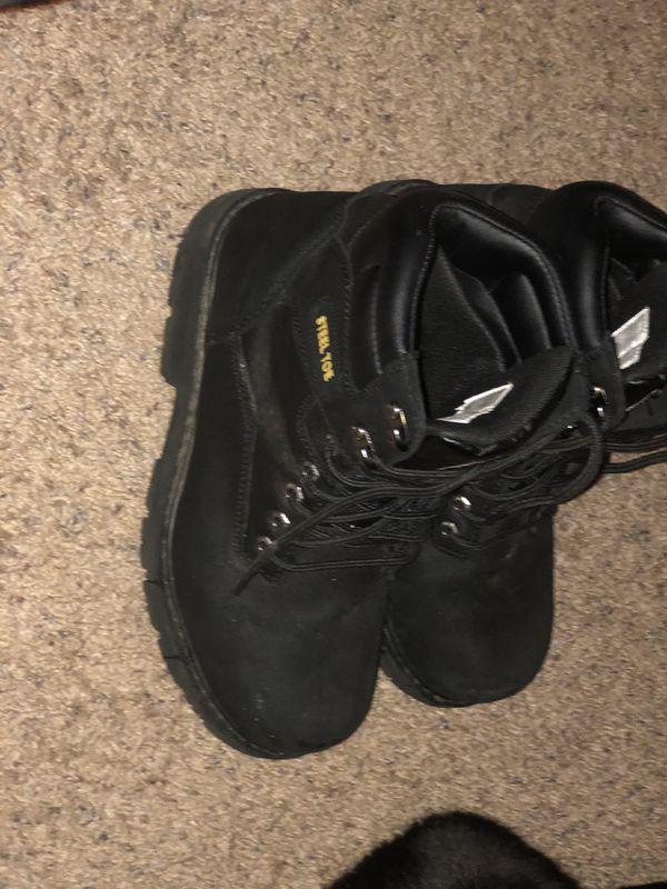 "Steel Stone Boots ""Brahma Boots"" 9 1/2"