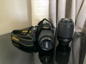 Nikon D3100 DSLR Camera with 3 Lenses and Accessories for Sale in Pembroke Pines, FL