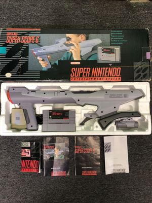 Super Nintendo Super Scope 6 Complete for Sale in Lakewood, OH