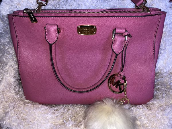 Michael Kors Pink Purse! Used Once!