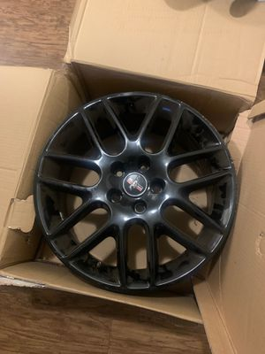 Ford mustang 18 inch original all black rims for Sale in Clearwater, FL