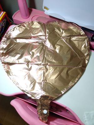 25pc Rose gold Heart Foil Mylar Balloons 18 inch big size Balloons for Sale in Alhambra, CA