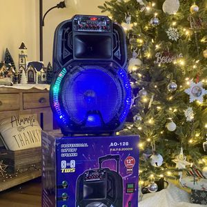 "12"" KEUS Bluetooth Wireless Rechargeable Speaker With Microphone for Sale in Pico Rivera, CA"