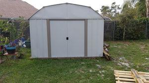 Metal shed 14×10 for Sale in Deltona, FL