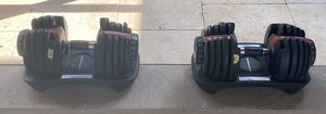 Bowflex SelectTech 552 - Two Adjustable Dumbbells for Sale in Tampa, FL