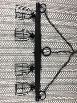 Rustic Hanging Pendant Lamp for Sale in Holland,  MI