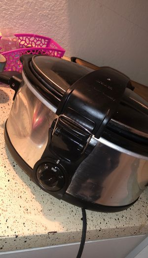 PRESSURE COOKER CROCK POT for Sale in Baytown, TX