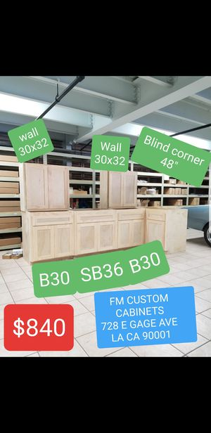 KITCHEN CABINETS NO PARTICLE BOARD for Sale in Los Angeles, CA