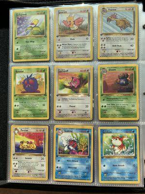 Pokemon WOTC 1st Edition Jungle Set (12) Cards for Sale in Orlando, FL