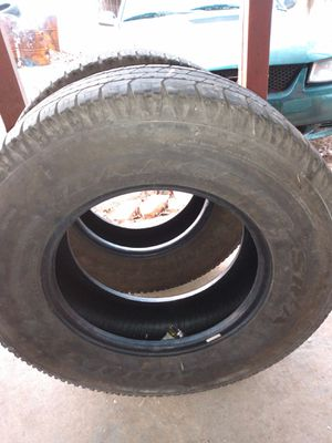 3 goodyear wrangles tires for Sale in Muldrow, OK