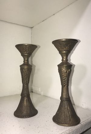 Brass candle holders for Sale in Cutler Bay, FL