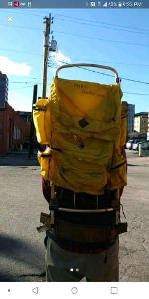 Yellow Large Hiking Backpack for Sale in Colorado Springs, CO