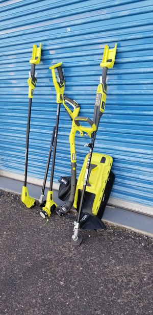 Assorted Ryobi Trimmers and Edges Parts only - Not complete Selling everything shown in photos for Sale in Phoenix, AZ