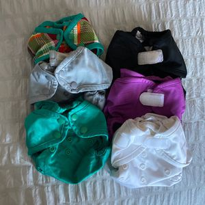6 Kangacare Rumparooz Diaper Covers (newborn) for Sale in Queen Creek, AZ