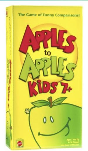 Apples To Apples Kids 7+ for Sale in San Francisco, CA
