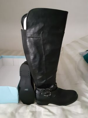 Black knee high boots for Sale in Philadelphia, PA