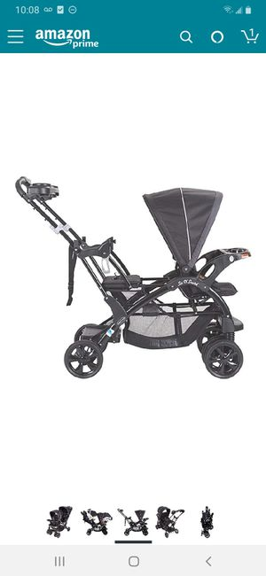 Baby trend sit and stand double stroller for Sale in Reynoldsburg, OH