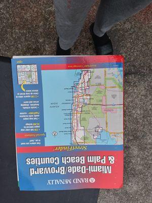 Miami dade map for Sale in Stone Mountain, GA