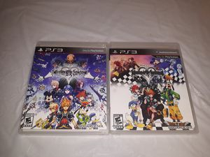 Playstation 3 kingdom of hearts for Sale in Los Angeles, CA