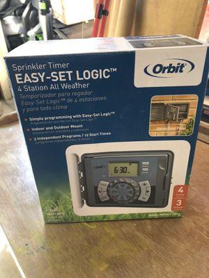 ORBIT easy-set logic sprinkler timer for Sale in Torrance, CA